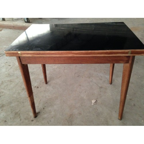 table vintage ann es 60 dessus formica achat et vente. Black Bedroom Furniture Sets. Home Design Ideas