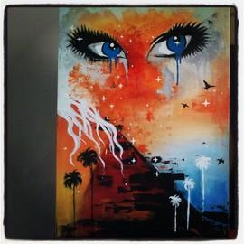 Tableau acrylique sur toile r v neuf et d 39 occasion - Tableau peinture acrylique facile ...