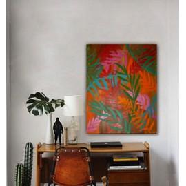 Tableau creation unique peinture moderne originale sur for Cadre peinture design