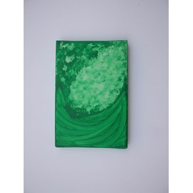 tableau vert artiste