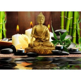 tableau led lumineux zen bouddha achat et vente priceminister rakuten. Black Bedroom Furniture Sets. Home Design Ideas