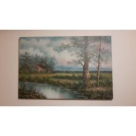 Tableau peinture huile neuf et d 39 occasion priceminister rakuten - Prix tableau peinture ...