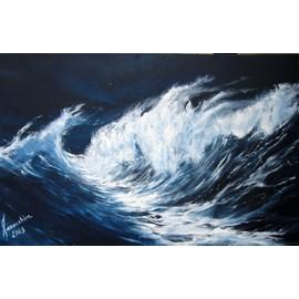 tableau peinture ocean mer force 8 neuf et d 39 occasion. Black Bedroom Furniture Sets. Home Design Ideas