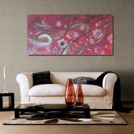 offer buy  tableau xl creation unique peinture moderne originale sur toile art contemporain deco murale design abstrait cadre relief fleur baroque a suspendre x