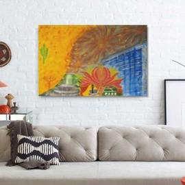 tableau xl creation unique peinture moderne originale sur toile art contemporain deco murale. Black Bedroom Furniture Sets. Home Design Ideas