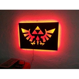tableaux lumineux led zelda neuf et d 39 occasion priceminister rakuten. Black Bedroom Furniture Sets. Home Design Ideas