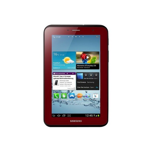 tablette samsung galaxy tab 2 7 0 8 go 7 pouces rouge grenat. Black Bedroom Furniture Sets. Home Design Ideas
