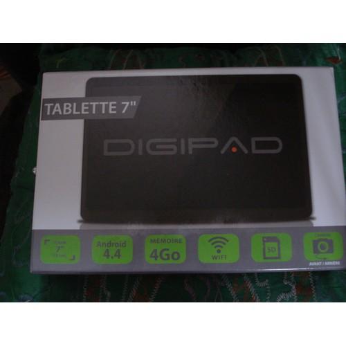 tablette tactile digipad bb117c wi fi 4 go 7 pouces android 4 4 noir. Black Bedroom Furniture Sets. Home Design Ideas