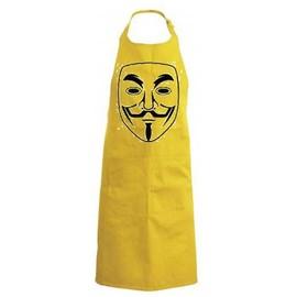 Tablier De Cuisine Humour Humouristique Geek Anonymous Jaune Rakuten