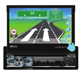 takara gpv1827bt autoradio 1din dvd gps usb bluetooth 7 pas cher. Black Bedroom Furniture Sets. Home Design Ideas