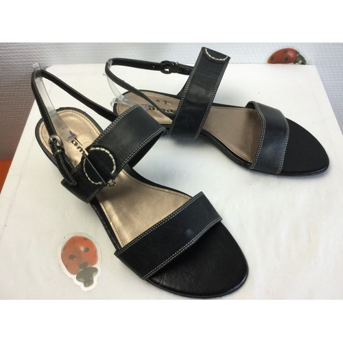 Talon Ballerine Sandale Plat Chaussure Femme Tamaris Marque dBeCWQrxoE