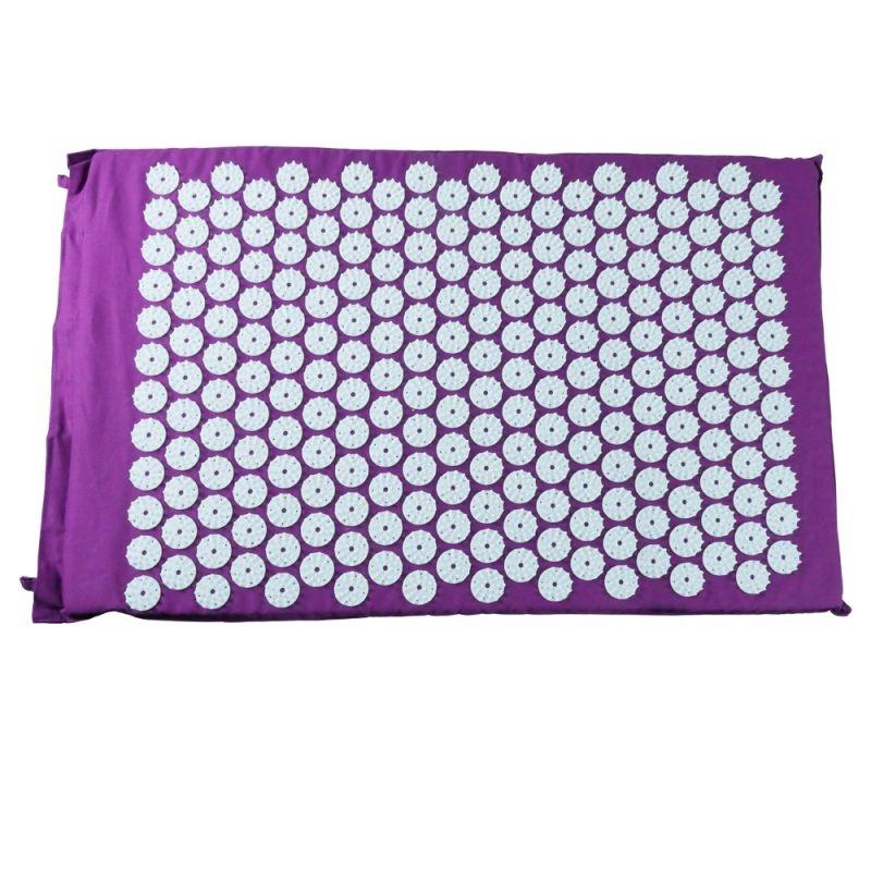 tapis d acupression tapis de fleur violet 44x70cm - Tapis Fleur