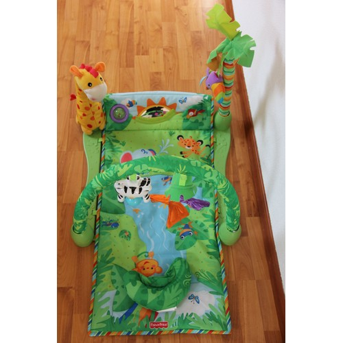 tapis d 39 veil musical fisher price jungle pas cher. Black Bedroom Furniture Sets. Home Design Ideas