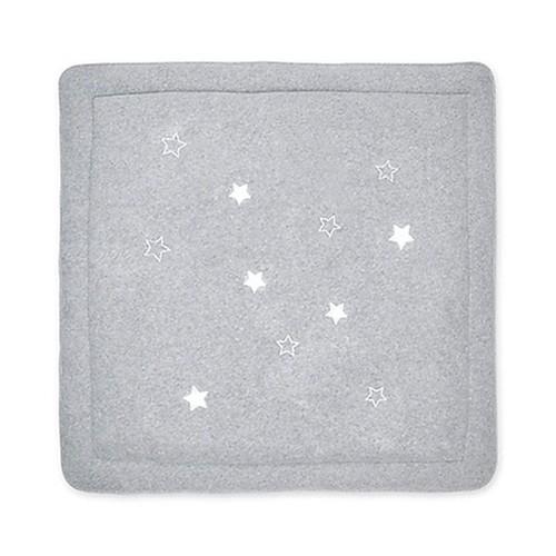 tapis de parc b b 100x100cm terri stary mixed grey pas cher. Black Bedroom Furniture Sets. Home Design Ideas