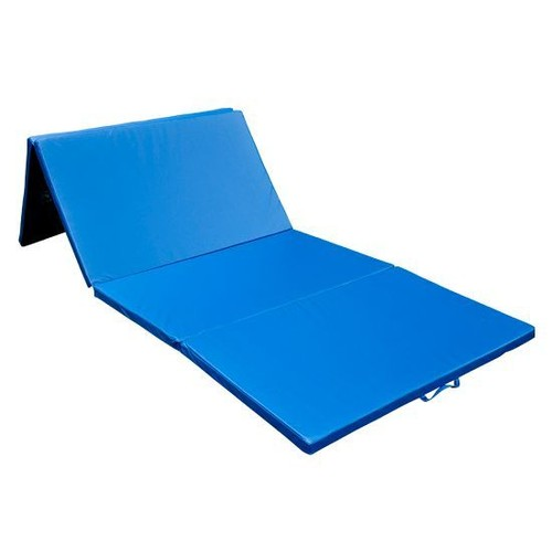 tapis de sol gymnastique natte de gym matelas fitness pliable portable 8 pied bleu 30. Black Bedroom Furniture Sets. Home Design Ideas