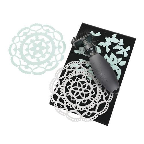 tapis et brosse pour matrice de d coupe brush et foam pad sizzix. Black Bedroom Furniture Sets. Home Design Ideas