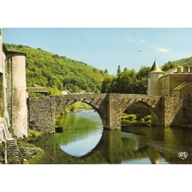 Tarn, Brassac Sur Agout, Le Vieux Pont Et Les Rives De L'agout