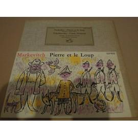 Tchaikowsky - Casse Noisette Suite Op.71 / Prokofieff - Pierre Et Le Loup Op 67 - The Philharmonia Orchestra Sous La Direction D'igor Markevitch - Piotr Illitch Tchaikowsky / Serguei Prokofieff