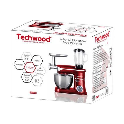 achetez techwood trp 1365 robot p tissier 1300 watt au meilleur prix sur priceminister. Black Bedroom Furniture Sets. Home Design Ideas