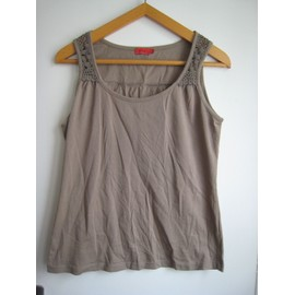 taille 44 091350043 9 Top marque shirt taupe taille 42