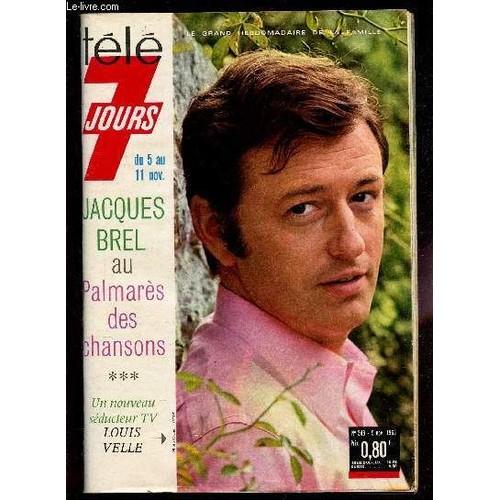 Du 5 Au 11 Nov. 1966 / Jacques Brel