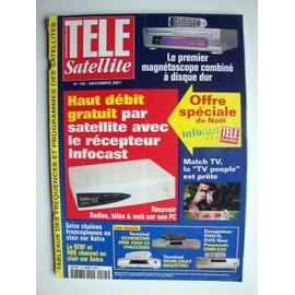 tele satellite n 145 haut debit gratuit par satellite avec le recepteur infocast tableaux. Black Bedroom Furniture Sets. Home Design Ideas
