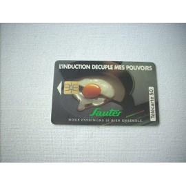 Telecarte 50 Sauter L'induction Decuple Mes Pouvoirs 06/93