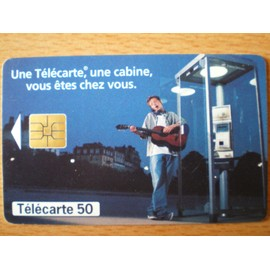 T�l�carte 50 Unit�s France Telcom Une T�l�carte, Une Cabine, Vous �tes Chez Vous