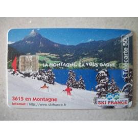 T�l�carte 50 Unit�s La Montagne �a Vous Gagne 10/97