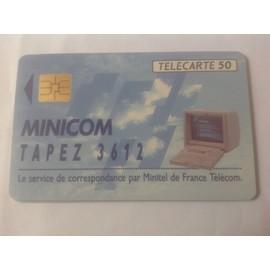 Telecarte 50u Minicom 3612