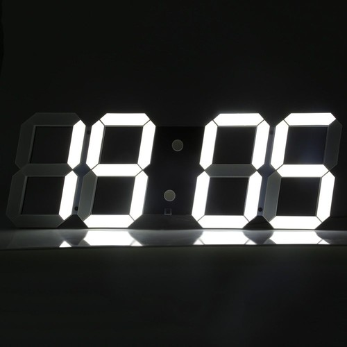 t l commande grande led num rique horloge murale. Black Bedroom Furniture Sets. Home Design Ideas