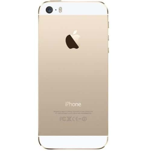 t l phone factice faux telephone apple iphone 5s gold pas cher. Black Bedroom Furniture Sets. Home Design Ideas