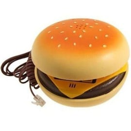offer buy  telephone fixe filaire hamburger touches a impulsion abs la chaise longue