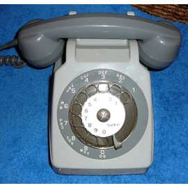 offer buy  telephone socotel gris des annees fixe