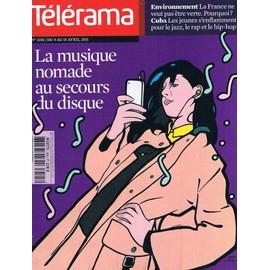 T�l�rama N� 3195 : La Musique Nomade Au Secours Du Disque