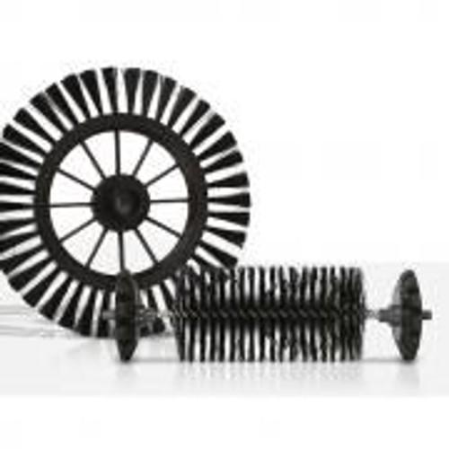 tempsa balai automatique nettoyage rotatif aspirateur brosse balayeuse sans electrique orange - Balai Brosse Rotative Electrique