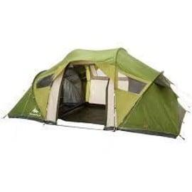 Tente de camping familiale arpenaz 4 2 xl 4 personnes 2 for Tente 2 chambres decathlon