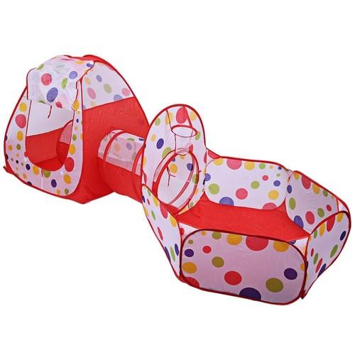 Tente enfant tente de balles basket ball avec tunnel for Piscine a balle bebe