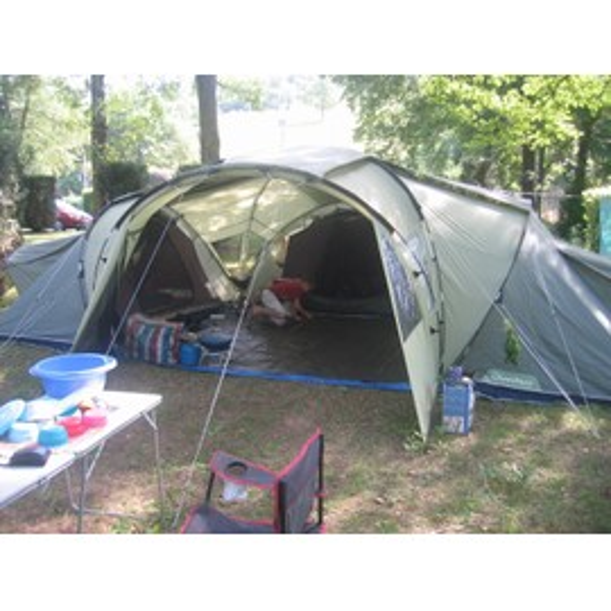 Tente familiale 6 places t 6 3 xl air pas cher priceminister for Tente 6 places 3 chambres