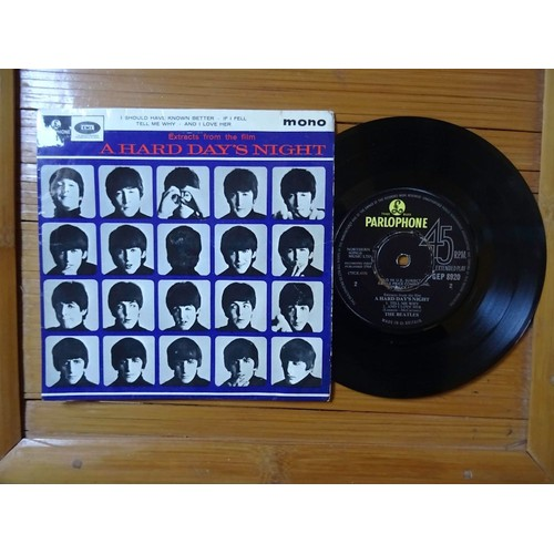 Beatles Extracts From The Film A Hard Days Night