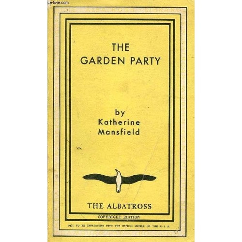 The Garden Party And Other Stories De Katherine Mansfield