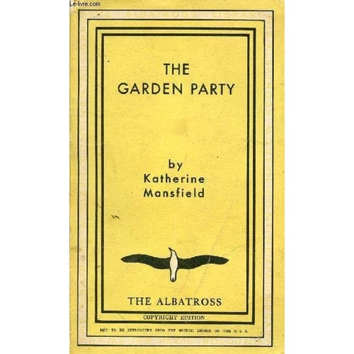 The garden party and other stories de katherine mansfield rakuten for The garden party katherine mansfield