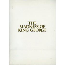 The Madness Of King George, Dossier De Presse, De Nicholas Hytner Avec Ian Holm, Helen Mirren