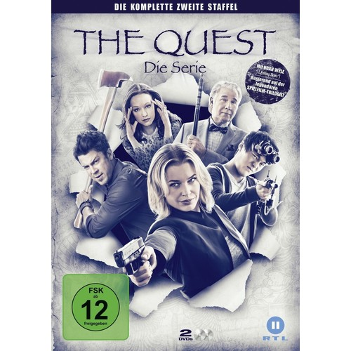 The Quest-Die Serie St.2 de Various - DVD Zone ALL - PriceMinister