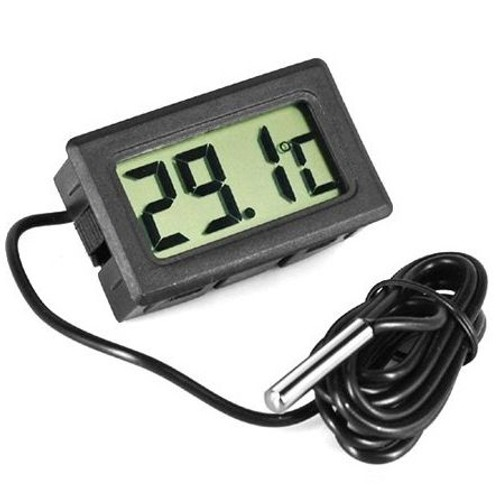 Thermom tre digital avec sonde aquarium r frig rateur - Thermometre de piscine digital ...