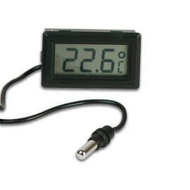 Thermometre digital encastrable cable sonde interieur for Sonde temperature exterieur 307