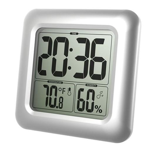 Merveilleux Thermomètre Hygromètre Horloge Digitale Résistant À Lu0027eau Salle De Bains  Cuisine