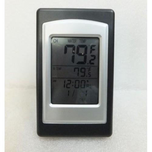 thermom tre piscine horloge digitale capteur ext rieur sans fil. Black Bedroom Furniture Sets. Home Design Ideas