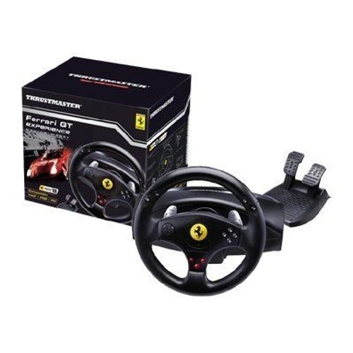 thrustmaster ferrari gt experience racing wheel ensemble volant et p dales pour sony. Black Bedroom Furniture Sets. Home Design Ideas