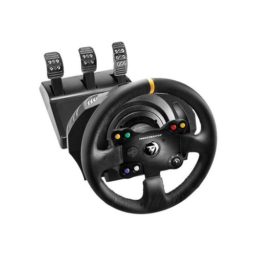 thrustmaster tx racing leather edition ensemble volant. Black Bedroom Furniture Sets. Home Design Ideas